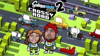 Why did Scribblenauts Crossy Road? Cuz they couldn't figure it out! (FGTEEV Dad & Lex Remix Pt 2)
