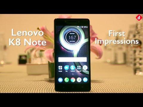 Lenovo K8 Note   First Impressions  Digitin