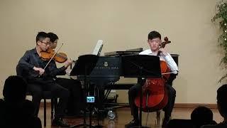 Mozart Piano Trio in E Maj, K. 542 III. Allegro