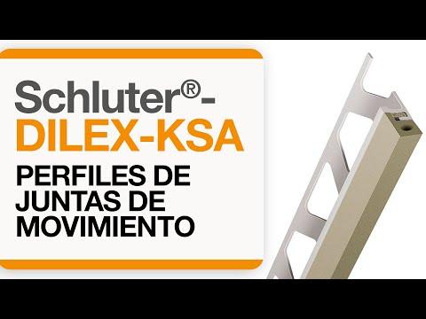 Cómo instalar una junta de movimiento en baldosas: Schluter®-DILEX- KSA