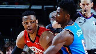 Houston Rockets vs OKC Thunder Full Game Highlights | January 20, 2019-20 NBA Season