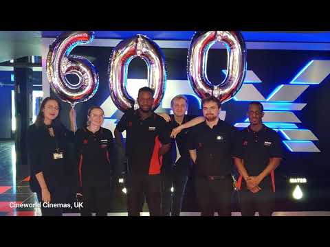 Celebrating the 600th 4DX Theater