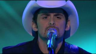 Brad Paisley   Then Live on American Idol