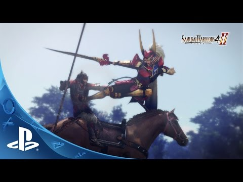 SAMURAI WARRIORS 4-II Trailer
