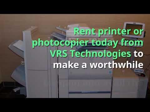 Printer Rental Dubai - Xerox Printer Rental in Dubai