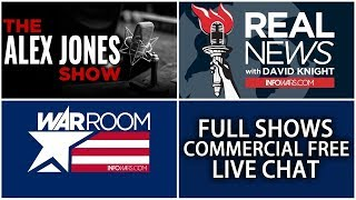 LIVE 📢 All Shows From Today Commercial Free ► Alex Jones Infowars • Wednesday 2/21/18