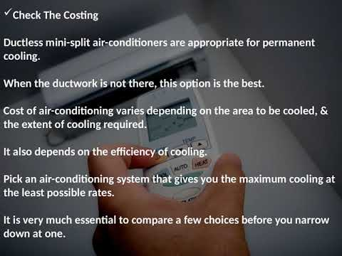 Installing Split System Air Conditioners Adelaide – Important Things to Consider