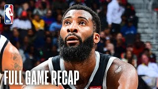 PISTONS vs HAWKS | Andre Drummond Puts Up 26 & 21 | February 22, 2019