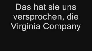 "Pocahontas: ""Virginia Company"" und ""Stetig wie der Trommelklang"""