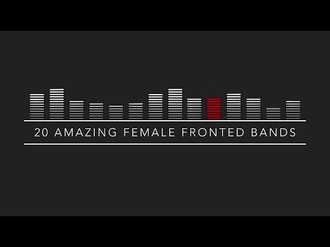 My Top 20 Female Fronted Pop/Punk/Rock/Metal/Alternative Bands (2016)