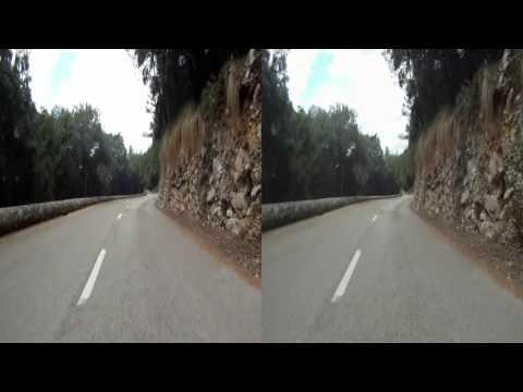 3D HSBS - Majorque/Mallorca 2014 - Descente du nord vers Sóller north descent