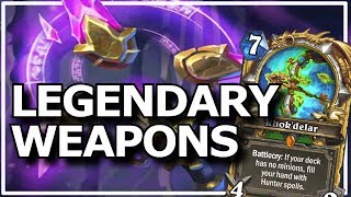 Hearthstone - Best of Legendary Weapons