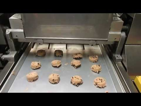Chocolate Chip Cookies Depositing