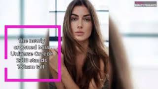 Ioanna Bella crowned Miss Universe Greece 2018  Beauty Pageants   Times of India Videos