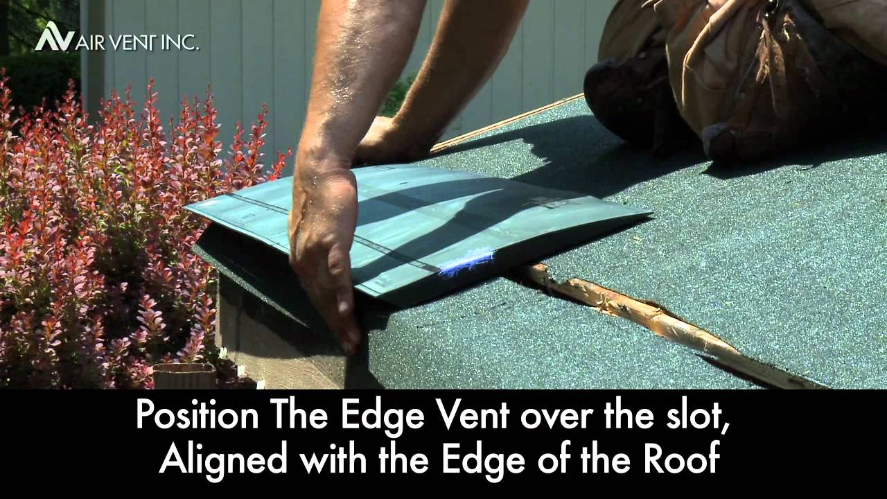 The Edge Vent Installation Overview Youtube