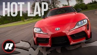 Hot lap in the new 2020 Toyota Supra