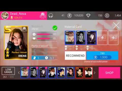 [SuperStar SM] Upgrading Red Velvet - Perfect Velvet Theme - To R (ALL MEMBERS)