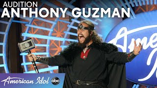 Anthony Guzman Proves That Even Super Hero Voices Can Be Soothing - American Idol 2021
