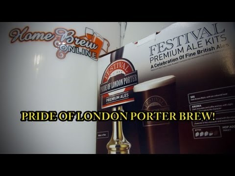 Home Brew Online The Ultimate Real Ale Starter Pack - Pride Of London Porter