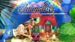 Unbox Daily: Disney Animators Collection Littles | Lilo Surprise Feature Play Set