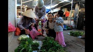 Theo Mẹ đi chợ quê buổi sáng sớm - Hương vị đồng quê - Bến Tre - Miền Tây