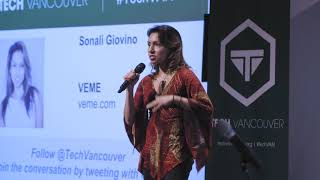 Sonali Giovani of VEME presents Breaking through barriers: lessons learned as a Female Entrepreneur