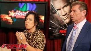 Raw - Mr. McMahon questions Vickie Guerrero's decision making abilities: Raw, June 10, 2013