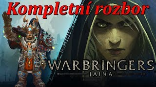 "WoW Lore - Rozbor ""Warbringers: Jaina"" [Cz/Sk]"