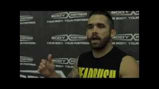 UFC 164 Jamie Varner Camp Interview