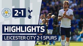 HIGHLIGHTS | Leicester City 2-1 Spurs