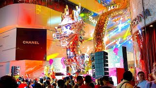 CHINESE NEW YEAR IN BANGKOK | EmQuartier Celebrates Chinese New Year With Show, Bangkok, Thailand