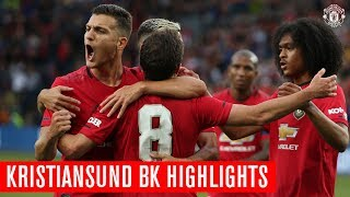 Manchester United   Kristiansund BK Highlights   Mata Scores An Injury Time Winner!