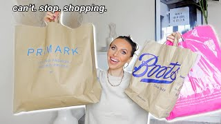 COME SHOPPING IN PRIMARK!! PRIMARK TRY ON HAUL, BOOTS & SUPERDRUG HAUL!!