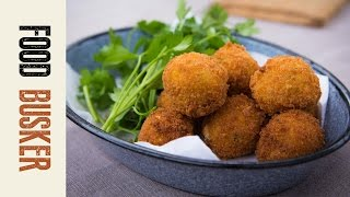How To Make Arancini | Food Busker