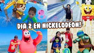 Dia 2 en Hotel Nickelodeon   Dia de Toboganes   Family Juega
