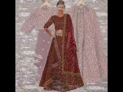 Buy Designer Lehengas Choli Online in India