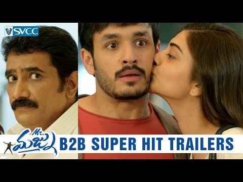 Mr Majnu Back to Back Hit Trailers- Akhil, Nidhhi Agerwal