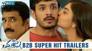 Mr Majnu Back to Back Hit Trailers- Akhil, Nidhhi Agerwal..
