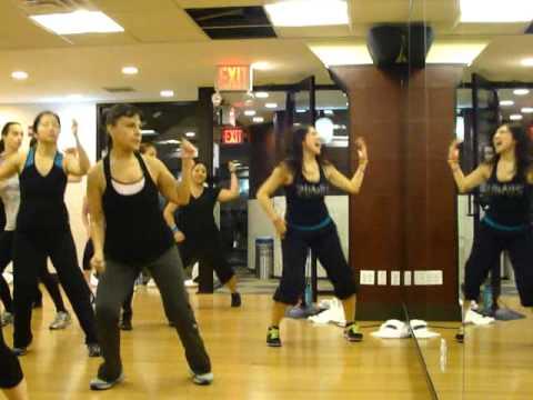 Zumba Fitness Jlo Pitbull On The Floor Youtube