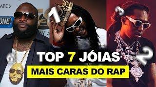 TOP 7 JÓIAS MAIS CARAS DO RAP / HIP-HOP | TOP 7 VERSATIL