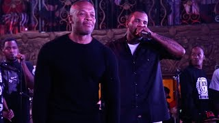 """Game Brings Out Dr. Dre at His """"The Documentary"""" Album 10 Year Anniversary Concert"""