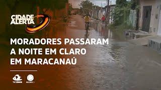 Moradores passaram a noite em claro em Maracanaú