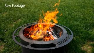 Ablaze: How the Smoke Less Fire Pit Works