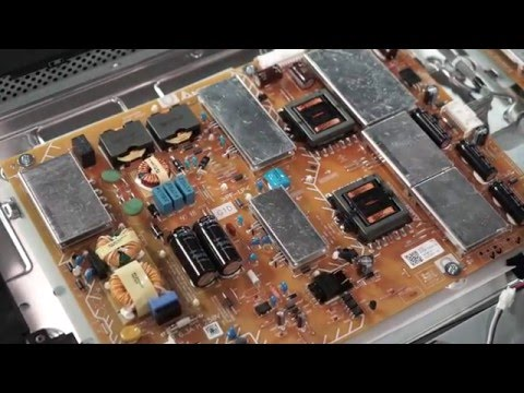 Teardown of the X900C Ultra Slim 4KTV- We Take It Apart