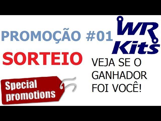SORTEIO PROMOÇÃO 01 - CONHEÇA O GANHADOR!