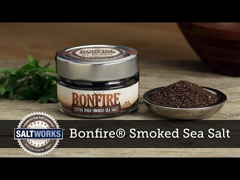 Bonfire® Extra Bold Smoked Sea Salt by SaltWorks®