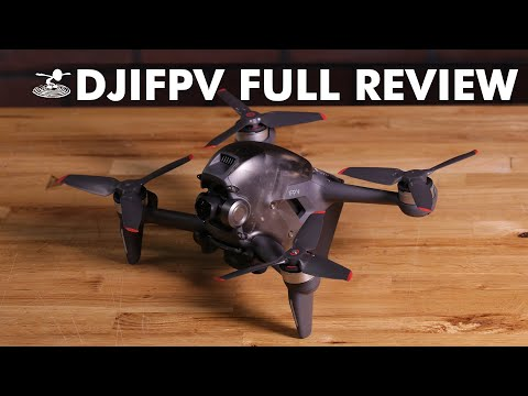 FIRST EVER DJI FPV Drone - New Cinematic FPV Drone for beginners | Full Review