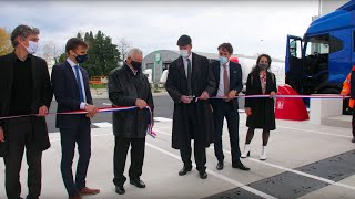 L'inauguration de la station V-Gas de Plan d'Orgon en images