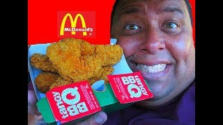 McDonald's® Buttermilk Crispy Tenders REVIEW!