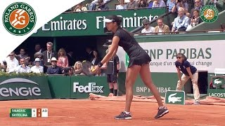 Ana Ivanovic v Elina Svitolina Highlights - Women's Quarterfinals 2015 - Roland Garros